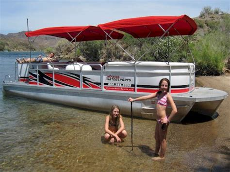 pontoon boats for sale in lake havasu arizona watersports waverunner boat rentals lake havasu