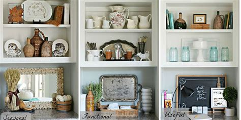 Shelf Decorating Ideas by One Bookshelf Three Ways Bookshelf Decorating Ideas