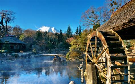 Mountain House Water by Desktop Wallpapers Water Mill