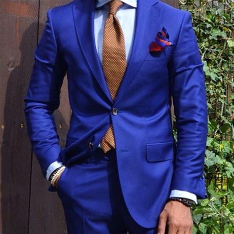 Royal Bidet Dapper Blue Men S Suit Mensfash
