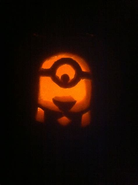 despicable me minion pumpkin carving halloween pinterest