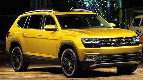 vw atlas 2018 volkswagen atlas price mpg release specs