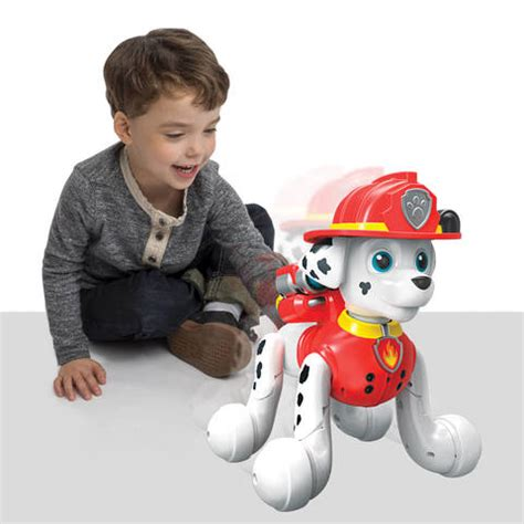 paw patrol zoomer boat paw patrol zoomer marshall interactive pup with missions