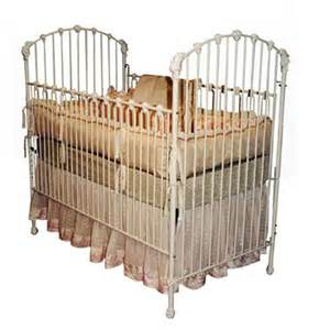 Antique crib corsican antique masterpiece iron baby crib