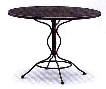 Patio Umbrella Made In Usa 42 Quot Umbrella Table Made In Usa Traditional Wrought
