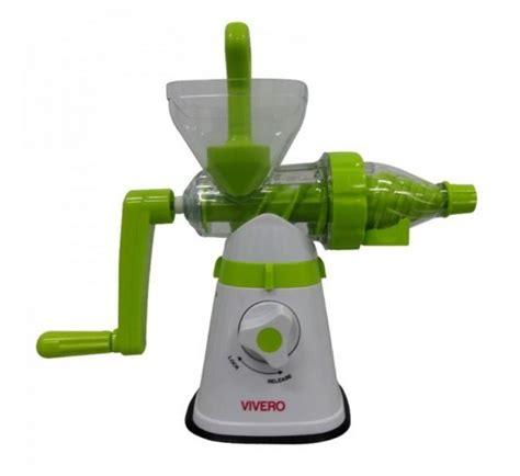 Juicer Tanpa As jual eco juicer vivero alat juicer tanpa listrik
