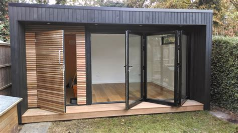 Garden Office Ideas Best 25 Contemporary Garden Rooms Ideas On Pinterest Contemporary Sheds Contemporary Gardens