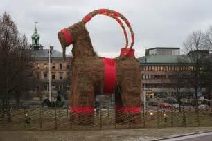 The History Behind The Christmas Tree - julbock the swedish christmas goat something swedish