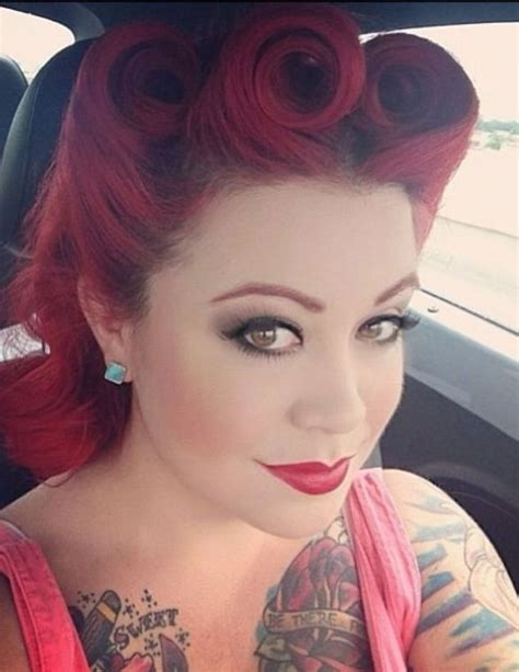 red hair 40s long retro hairstyles on red hair 2017 haircuts