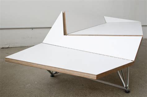 Origami Piano Bench - blacklab architects inc toronto modern architecture