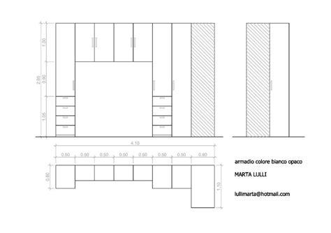 misure armadio a ponte creare armadio a ponte con angolo roma roma habitissimo