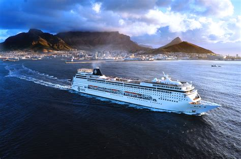 msc to msc sinfonia enters dock for big stretch