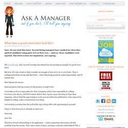 what does a good cover letter look like ask a manager