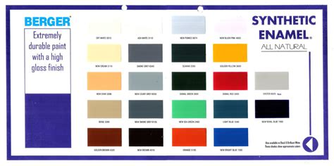 color shade colour shade card of berger paints my web value