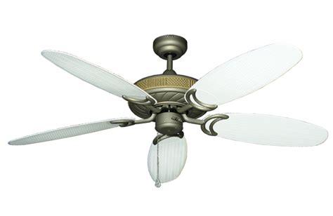 ceiling fan with wicker blades 52 inch atlantis outdoor ceiling fan with leaf or wicker