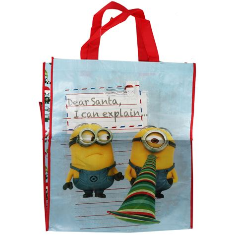 despicable me christmas shopper bag assorted christmas
