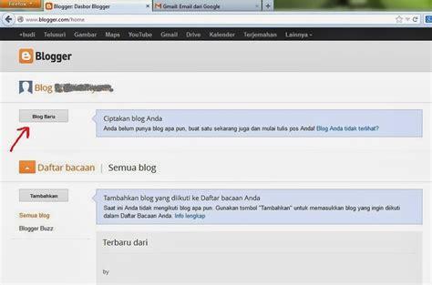 membuat blog com gratis membuat blog gratis di blogger com makin hijau