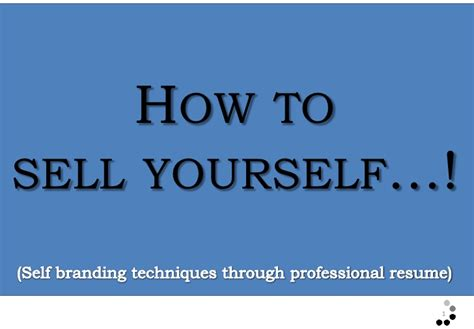 how to sell yourself in a resume exles 28 images jayde joanna s sle letter yourself sle