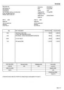 template for invoice invoice template