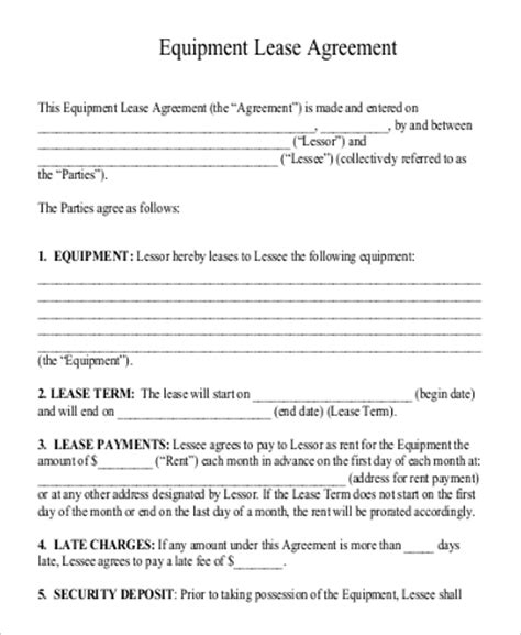 generic rental agreement template generic rental agreement bicycle rental agreement sle