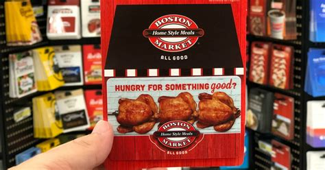 Boston Market Gift Card Costco - 10 off select 50 egift cards on amazon boston market american eagle jcpenney