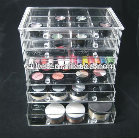 Cheap Makeup Drawers by Cheap Clear 6 Drawer Acrylic Makeup Organizer With Drawers