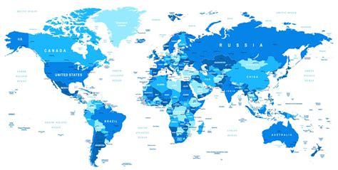 Hd Archipelagos Blue world map 2018