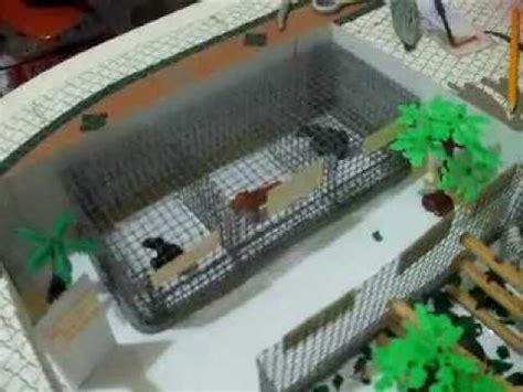 como hacer maquetas de paisajes zoologico avi youtube