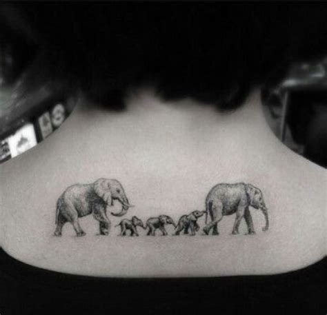 tattoo family above all picture of elephant family tattoo