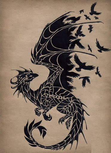 flying dragon tattoo designs images designs