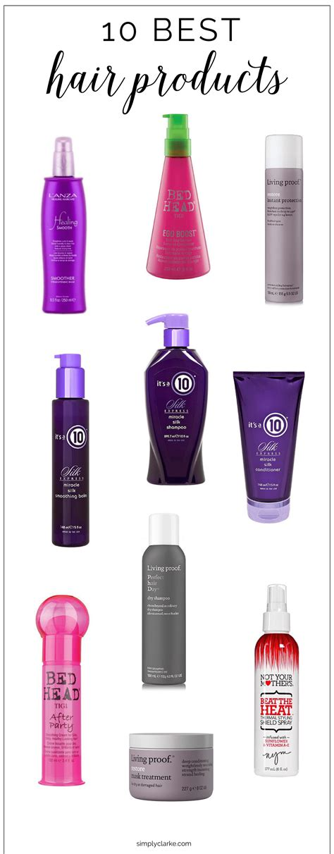 top 10 best hair moisturizer 10 best hair products simply clarke
