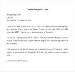 Resignation Letter Format Exles by How To Write A Resignation Letter With Exles Channel 42