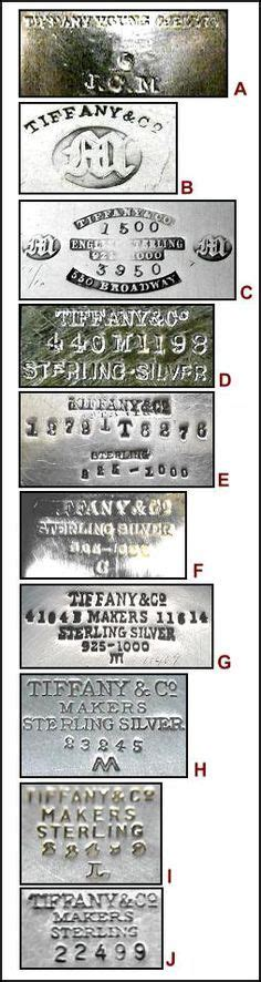 antique table l markings a typical set of antique silver hallmarks showing