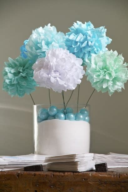 cheap baby shower centerpieces best 25 pom pom centerpieces ideas on tissue