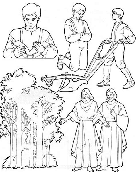 lds coloring pages joseph smith 12 images of lds first vision coloring page joseph smith