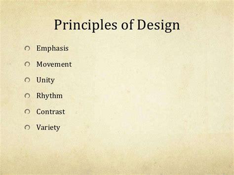 principles of design quiz powerpoint elements principles of art design powerpoint