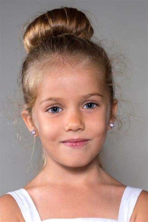 le chignon enfant les coiffures pour enfants tendance en 57 photos