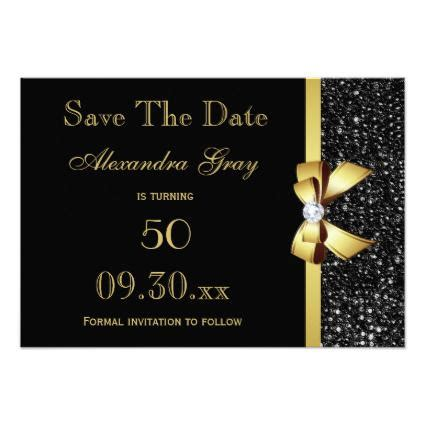 60th Birthday Save The Date Cards 60th Birthday Party Save The Date Choose Color Cards