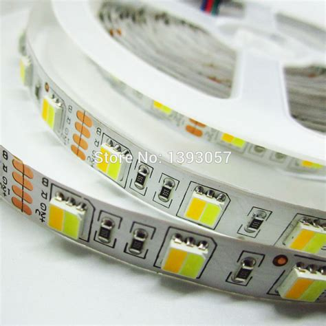 Led Smd Roll 5630 5730 smd led non waterproof dc 12v warm white and cold white leds integrated in one