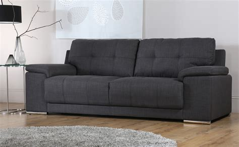 fabric sofa kansas 2 seater fabric sofa slate grey only 163 399 99
