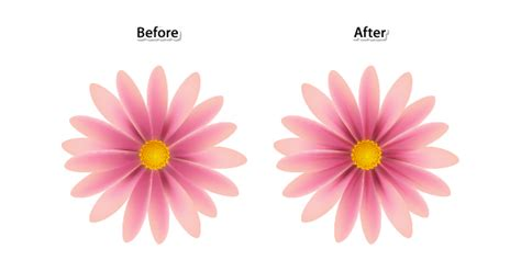 tutorial vector flower create simple flowers with gradient mesh in adobe illustrator