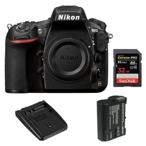 Memory Slr nikon d810 fx format digital slr 32gb pro memory card battery