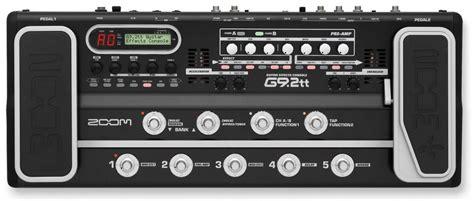 zoom g9 2tt guitar multi effects pedal gitar