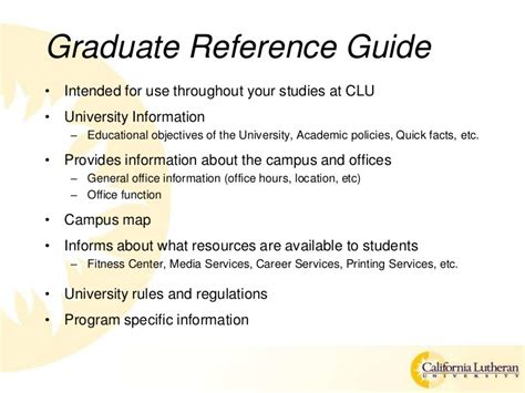 Https Www Callutheran Edu Academics Graduate Post Mba Certificate Index New Html by Clu New Graduate Student Orientation