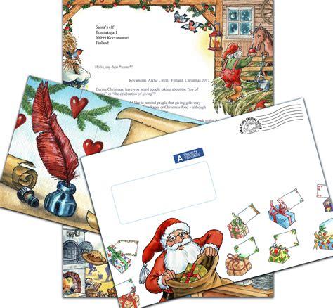 lettere x babbo natale lettera di babbo natale dalla lapponia per natale 2017