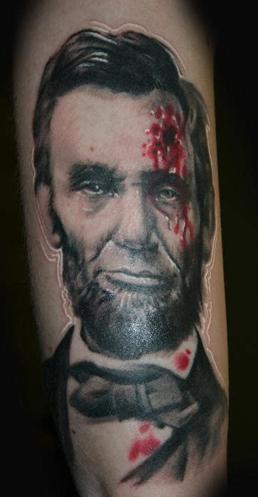 abraham lincoln tattoo abraham lincoln by stevie monie tattoonow