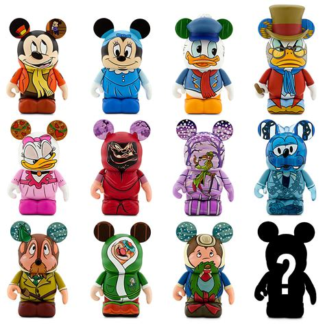 Disney S Mickey Mouse Mega Mat - new mickey s carol vinylmation series released