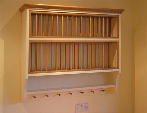 Kitchen Cabinet Plate Rack by Mill Furniture Traditional And Handmade