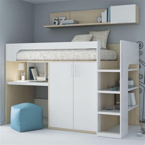 letto soppalco legno letto soppalco con varie soluzioni salvaspazio di design