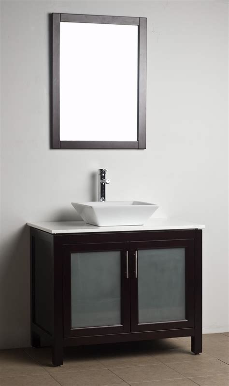 Bathroom Vanity Solid Wood Espresso Wh 0908 5 Wood Bathroom Vanity